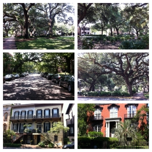 Savannah homes and Mercer House
