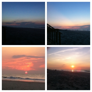Sunrise on Pawley's Island