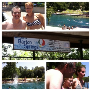 Barton Springs Pool!