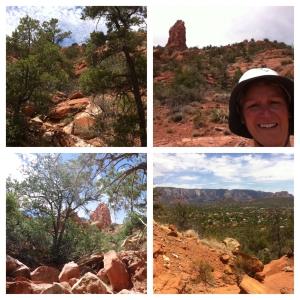 Chimney Rock hard hike!