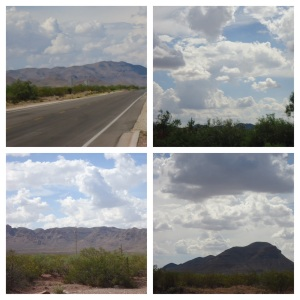Guadaloupe mountains around Van Horn, TX