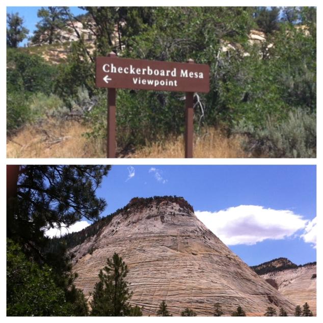 Checkerboard Mesa!