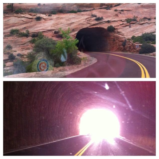 Zion Tunnel!
