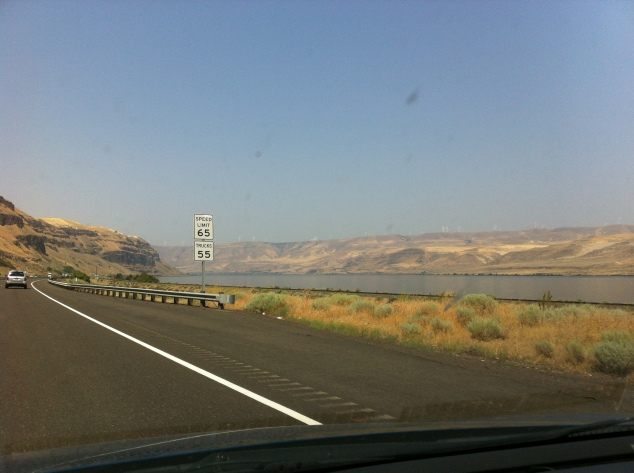 Columbia River - first look